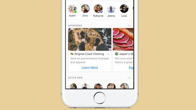 Facebook Messenger'a Reklam Geliyor!