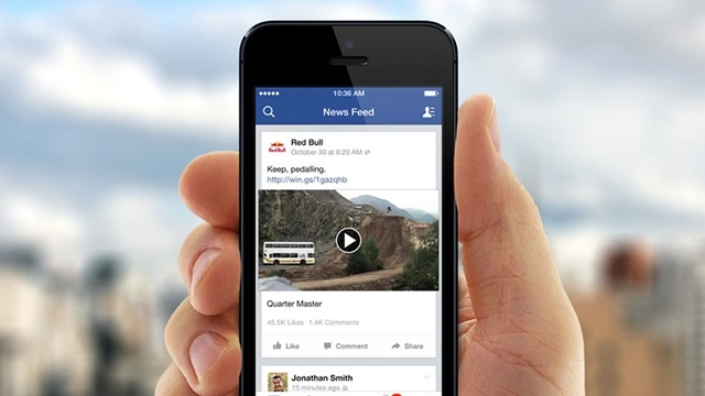 Kotalılar Dikkat: Facebook Videoları Yakında Sesli ve Otomatik Oynatılacak