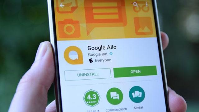 Google Allo'ya GIF Kütüphanesi ve Hareketli Emojiler Geldi