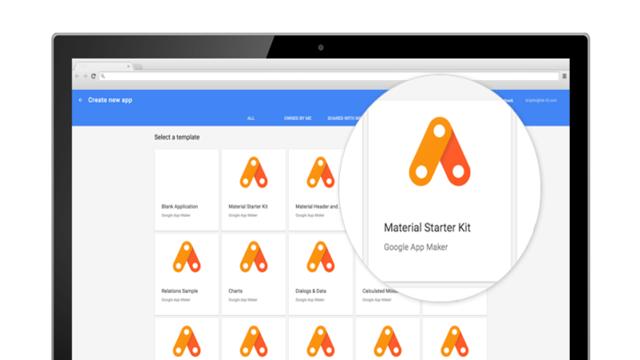 Google App Maker Yayınlandı