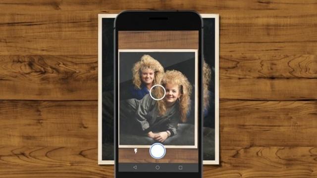 Google PhotoScan Baskılı Fotoğraflarınızı Yüksek Kaliteli Hale Getiriyor