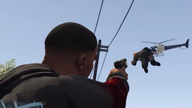 GTA 5'de Yerçekimi Silahı Eğlenceyi İki Katına Çıkarıyor