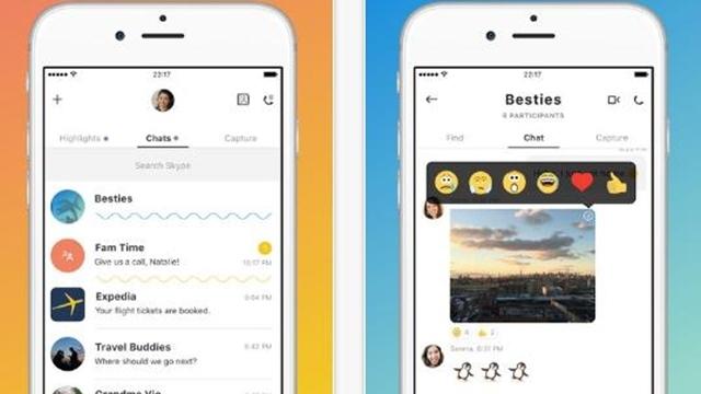 iPhone Kullanıcıları Yeni Skype Tasarımından Nefret Ediyor