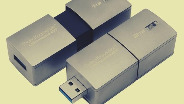 Kingston 2 TB'lık USB Flash Belleğini Tanıttı