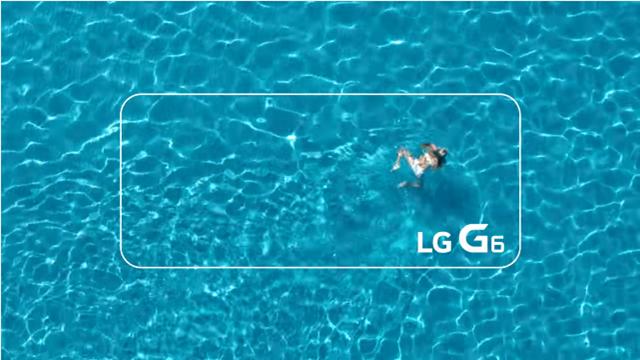 LG G6'nın Su Geçirmezlik Özelliği Tanıtıldı