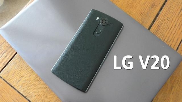 LG V20'nin Teknik Özellikleri Neredeyse Kesinleşti
