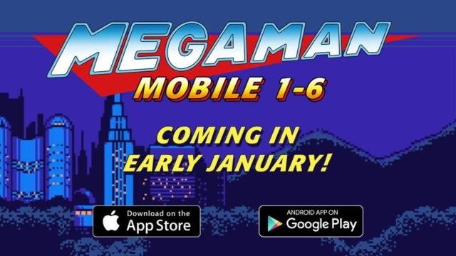Mega Man 1-6 iOS ve Android Platformuna Geliyor