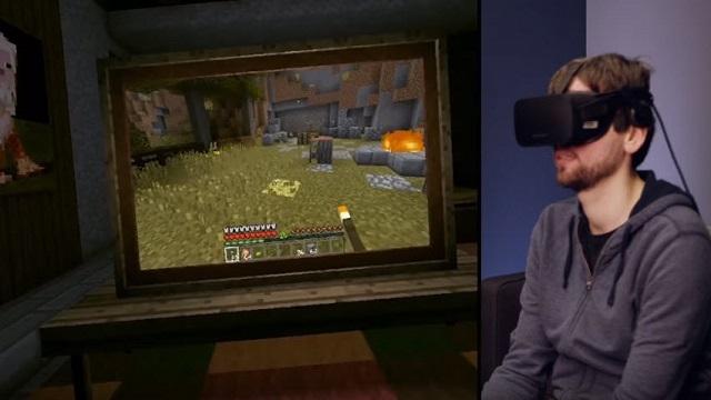 MineCraft'a Oculus Rift Desteği Geldi