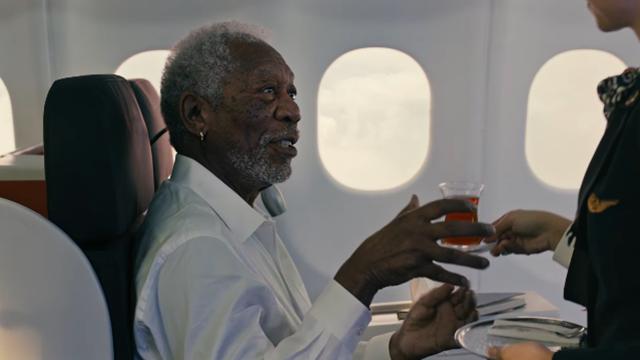 Sosyal Medya, Morgan Freeman'lı Türk Hava Yolları Reklamını Konuşuyor