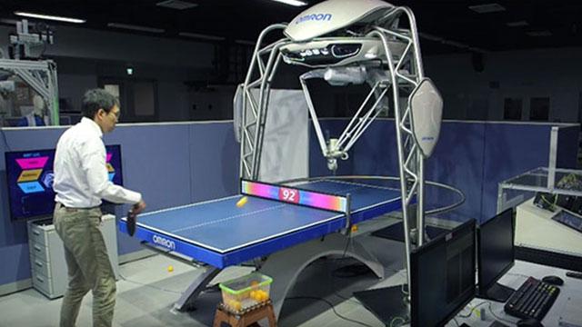 Rekor Kıran Robot, Ping Pong'da İnsanları Mahvediyor