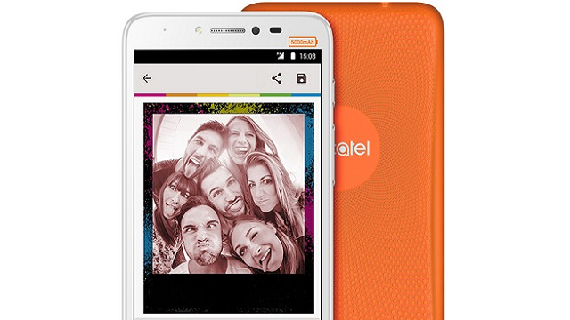 Alcatel Pixi 4 Plus Power 5000 mAh Batarya ile Geliyor