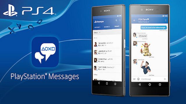 PSN Arkadaşlıklarını Pekiştirecek PlayStation Messages Uygulaması Yayınlandı