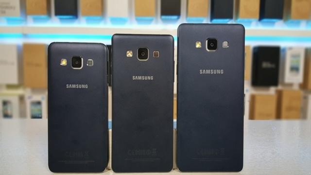 Samsung Galaxy A3, A5 ve A7'nin Özellikleri Resmi Olarak Açıklandı