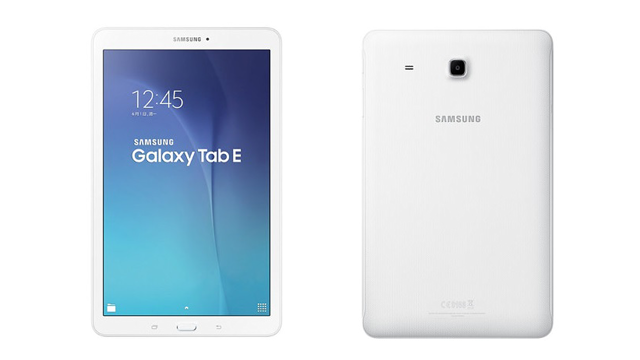 Samsung Galaxy Tab E Beklentileri Karşılayamayabilir