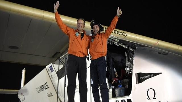 Solar Impulse 2 Dünya Turunu Başarıyla Tamamladı