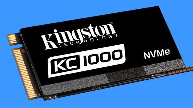 SSD İhtiyaçlarına Kingston'dan Muhteşem Çözüm: KC1000