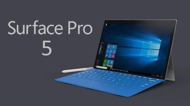 Microsoft Surface Pro 5'in 2017'nin İlk Çeyreğinde Çıkması Bekleniyor