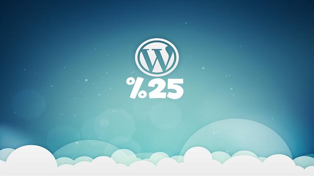 Mevcut Web Sitelerinin Yüzde 25'i Wordpress Tercih Ediyor