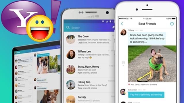 Yenilenen Tasarımıyla Göz Dolduran Yahoo Messenger Çıktı