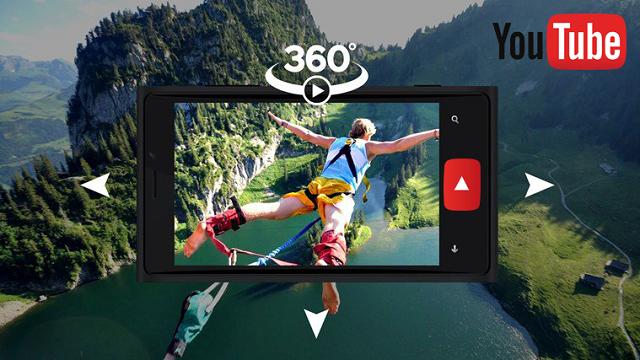 YouTube'da 360 Derece Canlı Video Akışı ve 3B Ses Devrimi