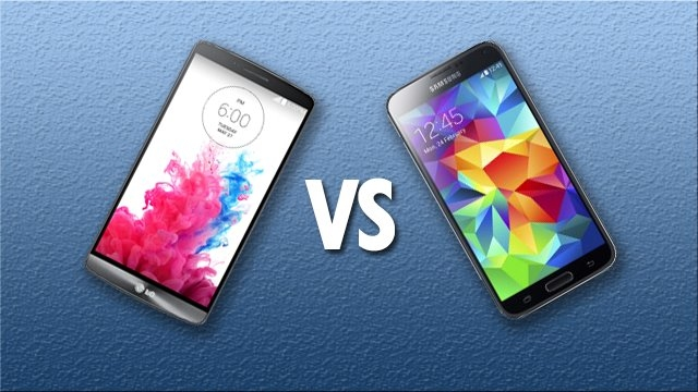 LG G3 ve Samsung Galaxy S5 Karşılaştırması