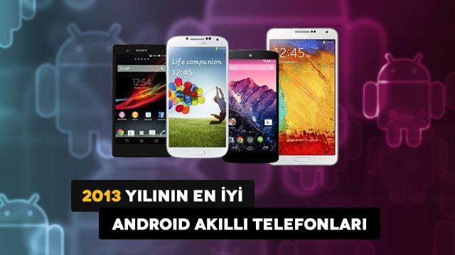 2013'ün En İyi Android Akıllı Telefonları