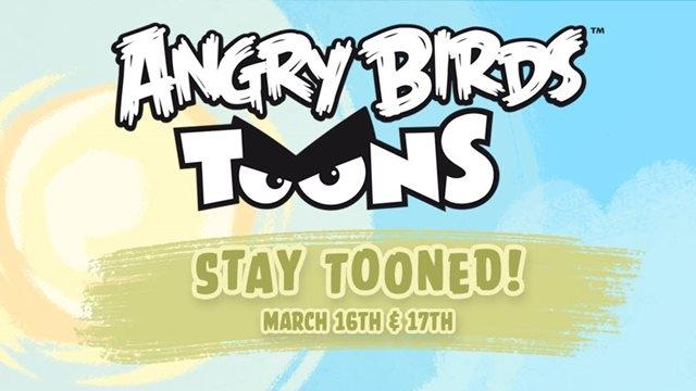 Angry Birds'ün Çizgi Film Serisi Geliyor