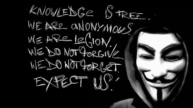 Anonymous Şimde de İtalyan Hükümetine Karşı Savaş Başlattı