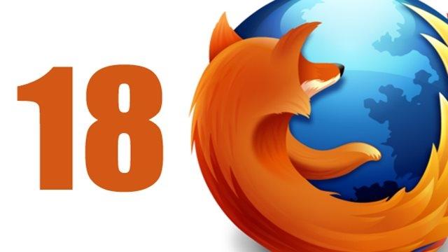 Mozilla Firefox 18.0.2 Gayrıresmi Olarak Yayında!