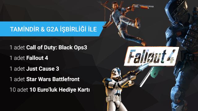 Tamindir ve G2A İşbirliği ile Sürpriz Oyunlar ve Hediyeler Kazanın! (Sonuçlar Açıklandı)