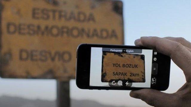 Google Translate'e Türkçe Görsel Çeviri Desteği Geldi