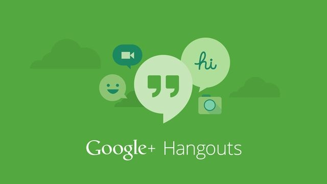 Google Hangouts HD Oluyor