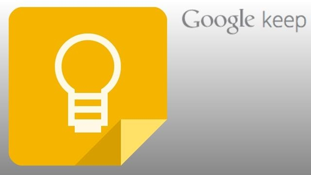 Google Keep Gün Yüzüne Çıkıyor