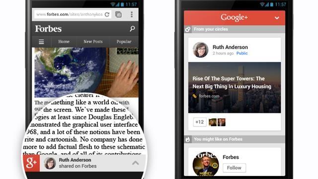 Google Mobil Siteler için Önerilenler Özelliğini Duyurdu