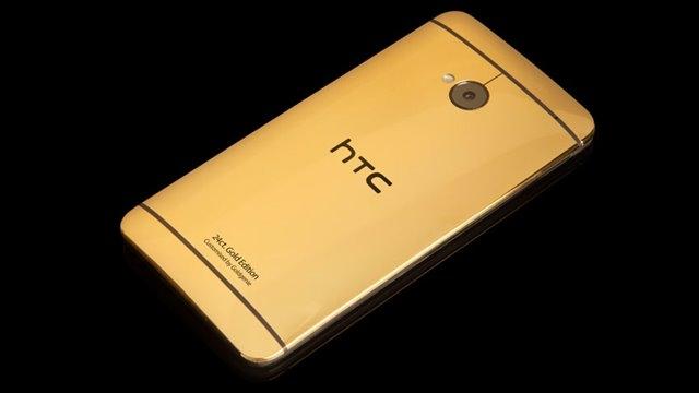 HTC, Gerçek Altından Yapılan HTC One Hediye Ediyor!