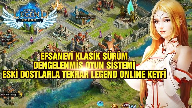 Tarayıcı Tabanlı MMO RPG Oyunu Legend Online Reborn'a İlgi Büyük