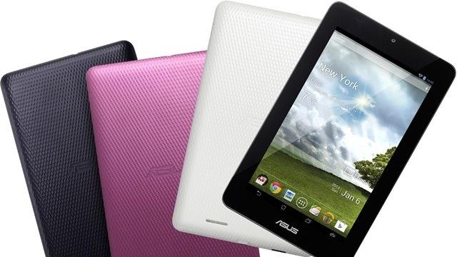 Asus 7 inçlik Tableti MeMO Pad'i Duyurdu