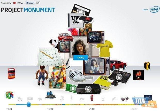 Intel Project Monument ile Gençliğinizi Yeniden Yaşayın