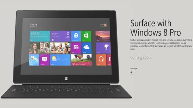 Surface Pro Yakın Zamanda Uluslararası Pazarda Satışa Sunulacak