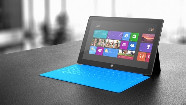 Surface RT'nin 64 GB'lık Modelleri Satışta