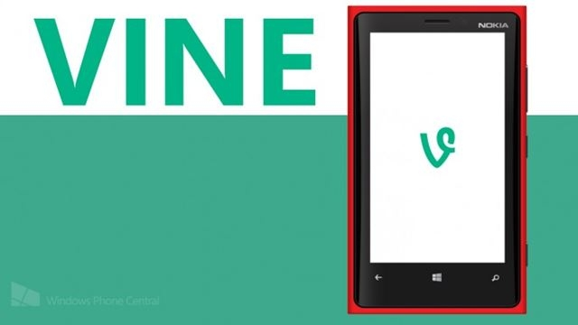 Vine Sonunda Windows Phone'a Geliyor
