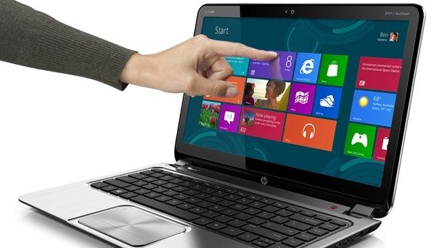 Windows 8'li Dokunmatik Dizüstü Fiyatları Düşecek
