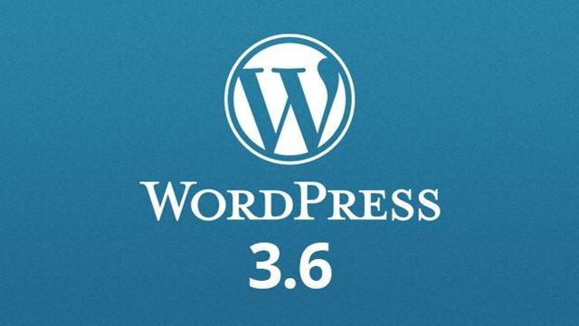 Wordpress 3.6 Oscar Yayınlandı
