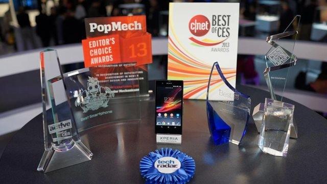 Sony Xperia Z CES 2013'te Ödülleri Topladı