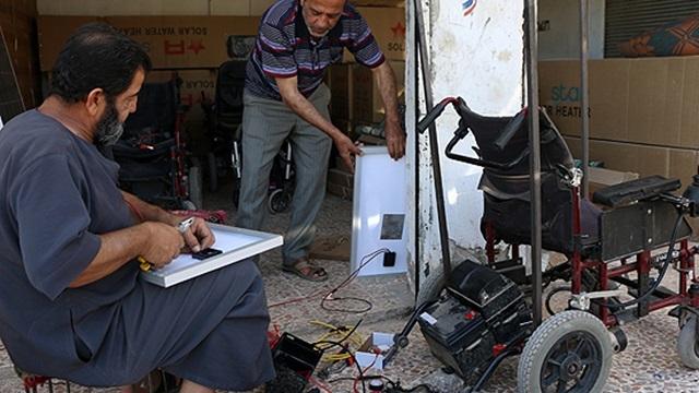 Güneş Enerjisiyle Çalışan Tekerlekli Sandalye Geliştirildi