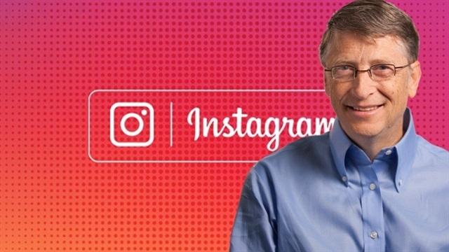Bill Gates de Instagram Kullanıcısı Oldu