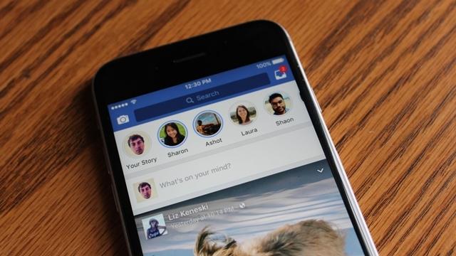 Facebook, Hikayeler Özelliğini Masaüstüne Getiriyor