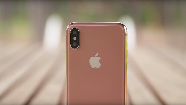 İşte Karşınızda Bronz Renkli iPhone 8!