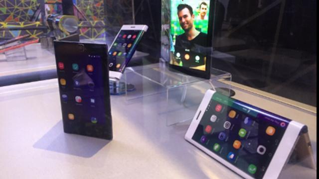 Lenovo Katlanabilir Tablet'ini Tanıttı