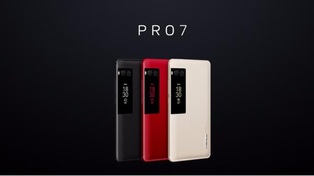 Meizu Pro 7 ve 7 Plus Resmileşti, Çift Ekran İle Geliyorlar!